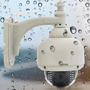Wireless WIFI H.264 P2P HD 720P PTZ IR PTZ Speed dome IP Network Camera outdoor