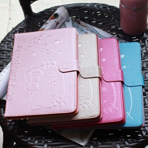 Hello Kitty PU Leather Smart Case Cover For iPad 4/3/2
