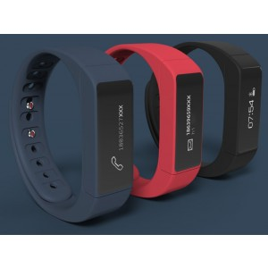 Bluetooth 4.0  Smart Bracelet I5 Plus Smart Wristband Sleep Monitoring Sports Tracking Wristband