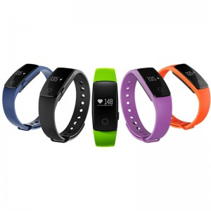 ID107 Heart Rate Monitor Smart Band Bracelet Fitness Tracker For IOS Android