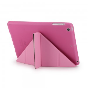 Smart Case For iPad 5 Air Flip Cover Folding Cross Pattern Cover