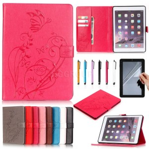 Luxury Wallet Leather Case Stand Magnetic Cover For iPad 2 3 4 Mini 1 2 3 4 Air Pro