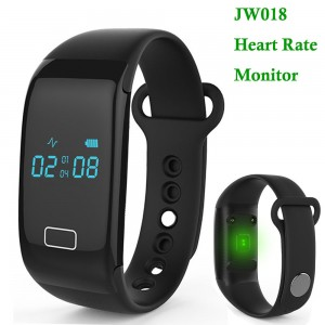 JW018 Bluetooth Smart Sport Heartrate Watch Bracelet Phone Mate For IOS Android
