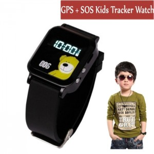 Kis Smart GPS watch GPS GSM GPRS Tracker Watch Double Locate Remote Monitor SOS
