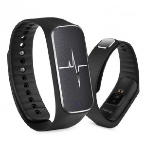 L18 IP54 Bluetooth Smart Bracelet Heart Rate Blood Pressure iOS Android