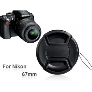 67 mm Lens Cap for Nikon Cameras