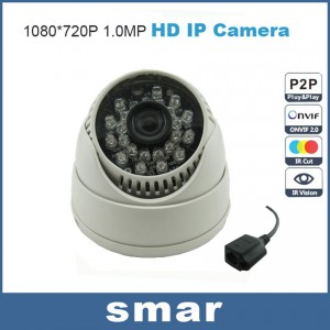 720P/960P mini IP Camera Network CCTV Camera Dome Onvif