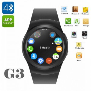 NO.1 G3 Bluetooth Smart Wrist Watch Heart Rate Sensor for Android IOS