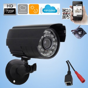 1.0MP 720P Wireless WIFI IP Security Camera Outdoor ONVIF Night Vision