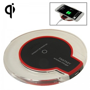 Qi Standard Wireless Charger Pad + Qi Wireless Receiver For iPhone