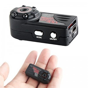 Mini 1080P HD Infrared Night Vision Dvr Spy Camera Cam