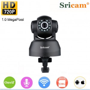 Pan/Tilt 720P H.264 P2P Wireless Network IP Camera IR Webcam