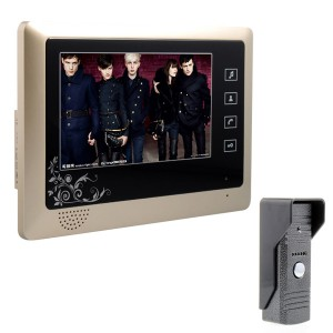 7 inch Video Door Phone Handset Touch Pad LCD Monitor DoorBell