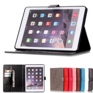 Thin Slim Shell Wallet Leather Case Skin Cover for Apple iPad Air 2/Air