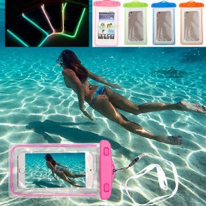 Luminous Glow Underwater Waterproof Case For Mobile Phones