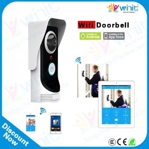 Home Security Rainproof Wireless WiFi Smartphone Remote Video Camera Doorbell