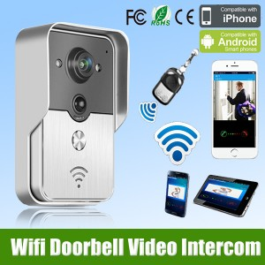 Wifi & IR Wireless Video Doorbell Intercom Door Phone