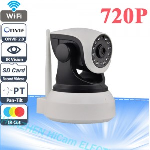 CCTV Wireless Wifi 720P HD H.264 P2P 1MP IP Network IR Security Camera Cam
