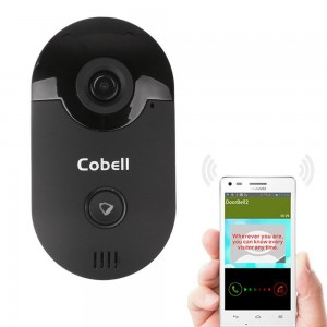 WiFi Wireless Video Doorbell Smart Phone Home Security