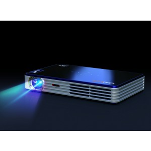 Coolux X6 Mini Led Pocket 3D 1080p Projector for Office Presentation