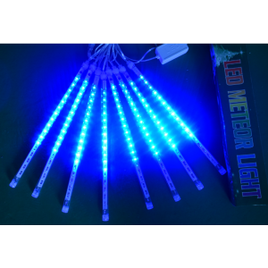 30cm 50cm LED Meteor Shower Rain Lights 8 Tubes Christmas Light