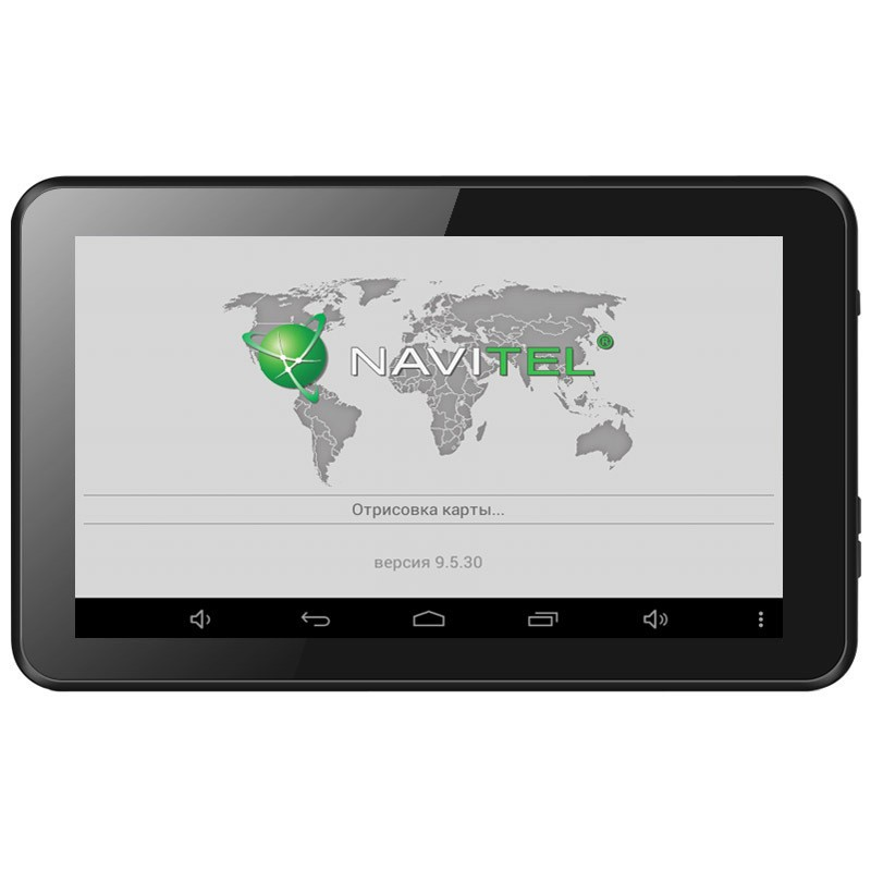 7 Inch Car GPS Navigation Android 4 4 2 Allwinner A23 WIFI/FM tablet pc  Truck vehicle gps Navitel 9 5 full Europe map 8GB