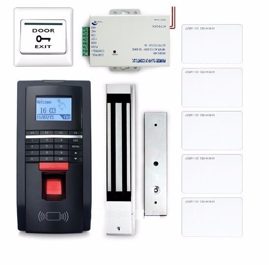 Fingerprint And Id Card Reader Access Control System Kit