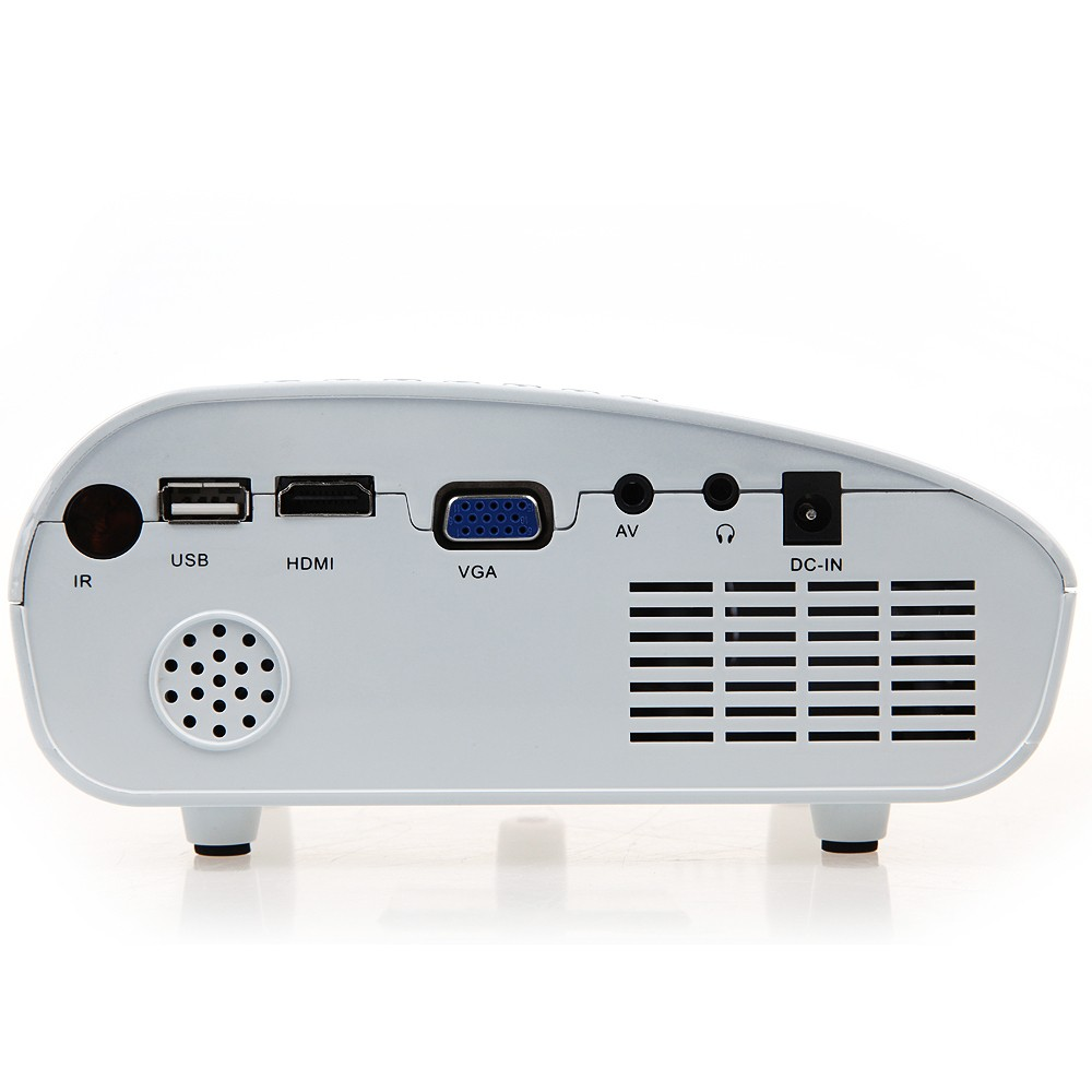 Rd802 Mini Portable Lcd Projector Hdmi Home Theater Proyektor Unic Uc40 Led
